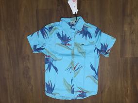Camisa Botão Oakley Mcd Lala Ands Surf Gg