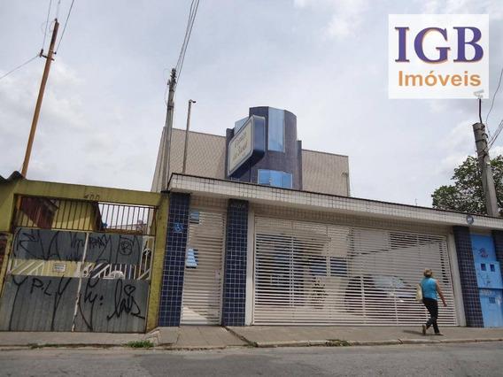 Prédio Comercial Para Locação, Limão, São Paulo. - Pr0038