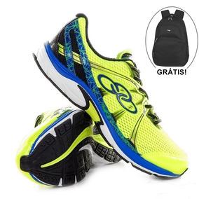 Combo Tênis Olympikus Circuit 2 Verde + Moch Grátis (promo)