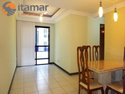 Locação Anual De Apartamento Na Praia Do Morro, É Nas Imobiliárias Itamar Imoveis. - Ap00892 - 4473835