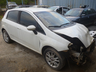 Sucata Fiat Punto 1.6 16v Dualogic 2012 Venda De Peças!