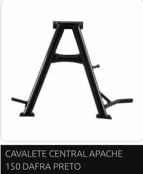 Cavalete Central Apache 150 Dafra
