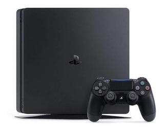 Ps4 Playstation 4 + 1 Jogo De Brinde