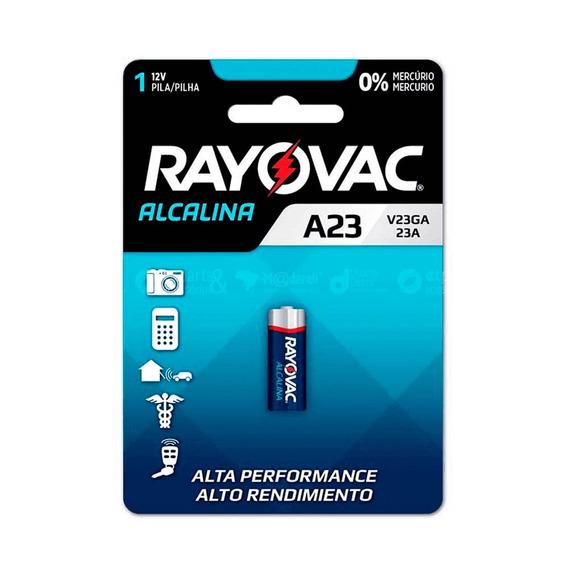 Pilha Bateria A23 Alcalina 12v Alto Rendimento - Rayovac