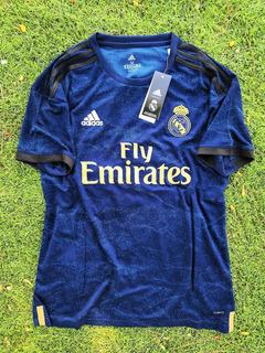 Fabulosa Jersey Oficial Real Madrid Visita 2020 Envío Gratis