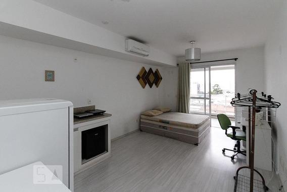 Apartamento No 2º Andar Mobiliado Com 1 Dormitório E 1 Garagem - Id: 892945338 - 245338