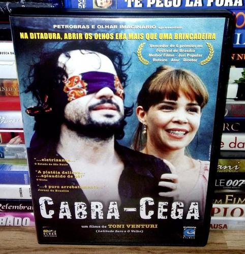 Dvd Original - Cabra Cega - Toni Venturi - Filme - Nacional | Mercado Livre