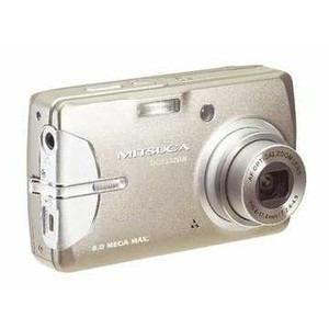 Câmera Digital Mitsuca Dc7332br 7.2mp 3x Zoom Óptico Prata