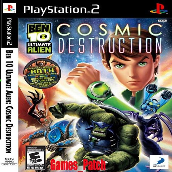 Ben 10 Ultimate Alien Cosmic Destruction Ps2 Patch