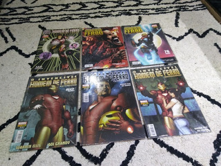 Lote De 06 Revistas Homem De Ferro-séries E Edição Especial
