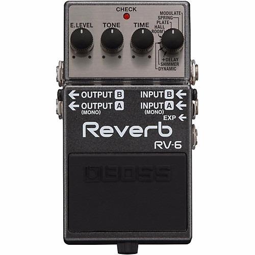 Pedal Boss Rv 6 Reverb Com Shimmer Rv6 Garantia De 1ano