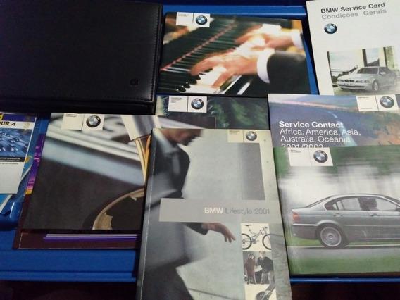 Manual Proprietário Bmw Série 3 2001 2002 + Case Tds Modelos