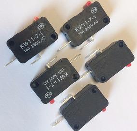 Kit 10 Chaves Micro Switch Normalmente Aberta