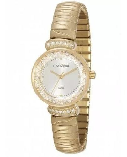 Relógio Feminino Mondaine Dourado Analógico 83363lpmvde1