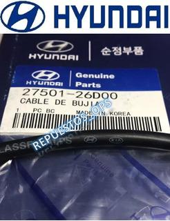 Cables De Bujias Original Hyundai ( Getz / Elantra ) 1.6