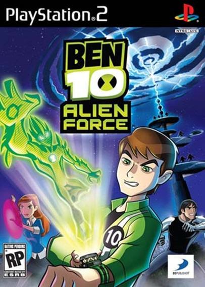 Ben 10: Alien Force - Playstation 2