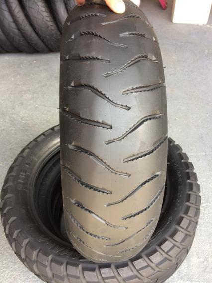 Pneu Traseiro 170/60/17 Michelin Anakee3 Usado Cb300 Twister