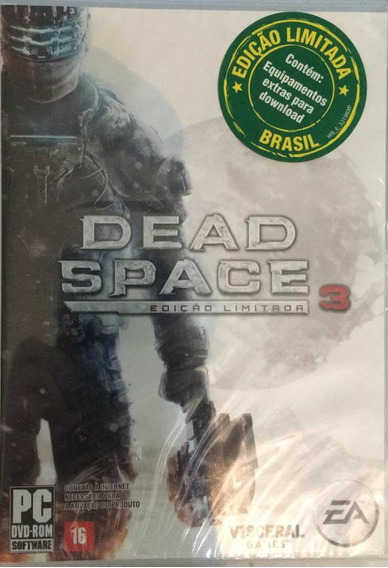 Dead Space 3 Edição Limitada Para Pc Lacrado