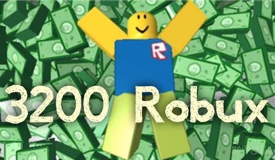 3200 Robux