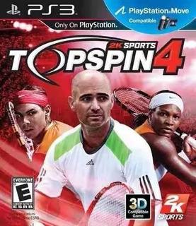 Top Spin 4 Ps3 Nuevo Envio Grats