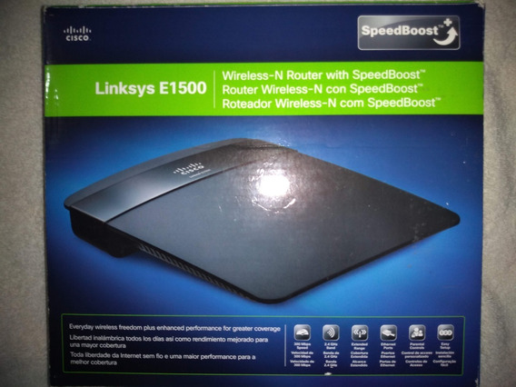 Router Wireless Cisco Linksys E1500-la. En Perfecto Uso