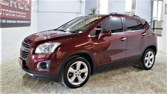 Chevrolet Tracker Awd Ltz 2016 Bordo Nafta