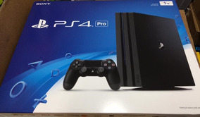 Playstation 4 Pro 1 Tb, Novo, Lacrado E Com Garantia