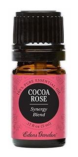 Mezcla De Aceite Esencial De Rosa De Cacao 100% Puro Sin Dil