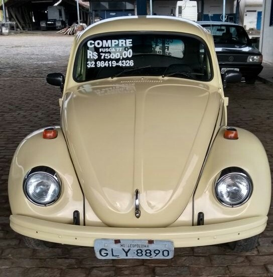 Volkswagen 1300 Fusca (ano 1977) - Reforma Recente