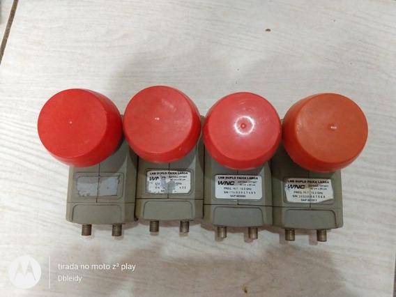 Lnb Duplo Kit Com 4 Unidade