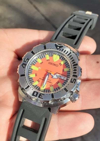 Relógio Seiko Monster Automatic Divers Srp
