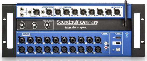 Mesa De Som Digital Soundcraft Ui24r | Original Harman | Nfe