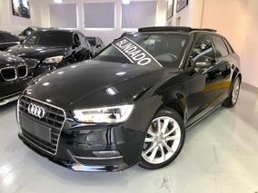 Audi A3 1.8 Tfsi Sportback Gasolina 4p Blindado Bss Com Teto