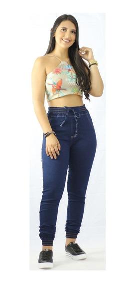 Kit 25 Calça Jeans Cintura Alta Hot Pants Com Lycra