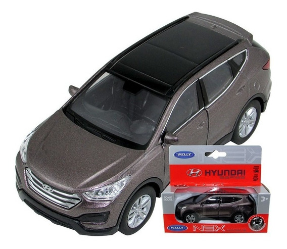 Welly Auto A Escala 1:36 Hyundai Santa Fe 43677