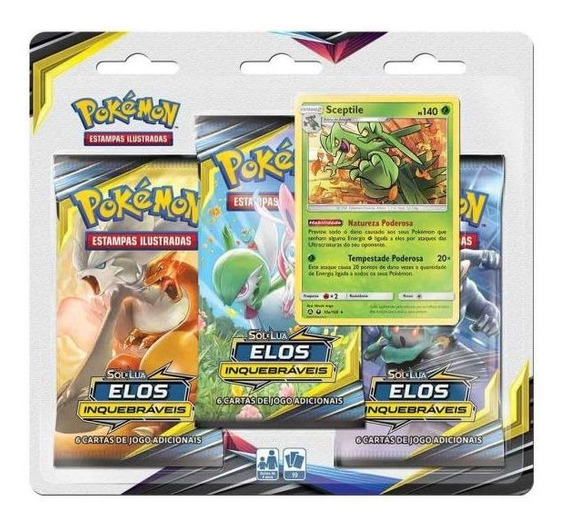 Pokémon Sol E Luz 10 Elos Inquebraveis 99280 Copag - Scept
