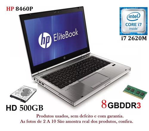 Notebook Hp I7 8gb Ram/ Hd Com Garantia, Promoção 12x