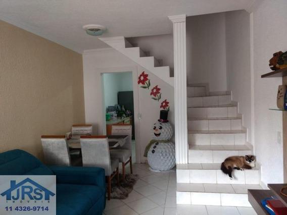Sobrado À Venda, 75 M² Por R$ 223.000,00 - Jardim São João - Jandira/sp - So0882