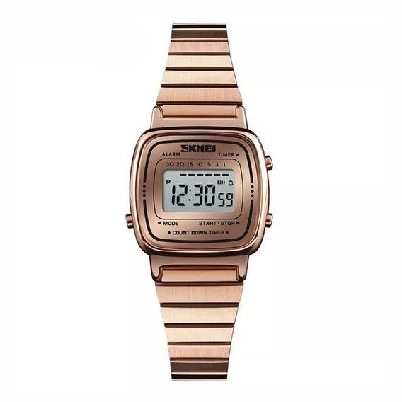 Relógio Feminino Skmei Digital 1252 Rose