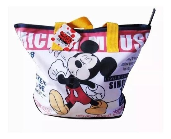 Bolsa Mickey Disney 100% Original E Importada Colorida