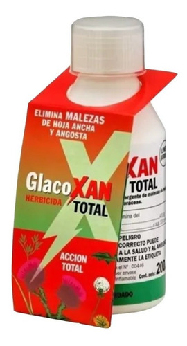 Hérbicida Total Glacoxan 100 Cc Glisofato43.8% Mata Yuyos