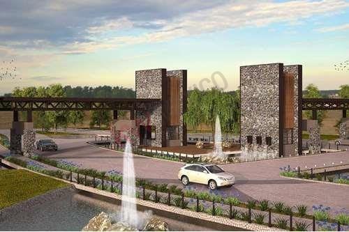 Lotes Residenciales A 3km Del Centro Historico, Exclusivos Cluster, Seguridad, Lagos, Fuentes, Entorno Natural, Bienestar, Plenitud, Casa Club Y Amenidades
