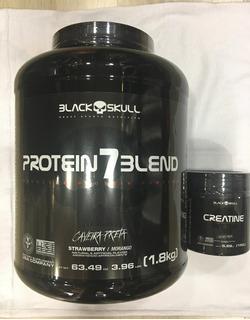 Protein7 1,8g+ Cretina Black Skull 150g