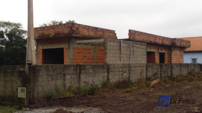 Terreno Com Casa Em Peruíbe - Te0085
