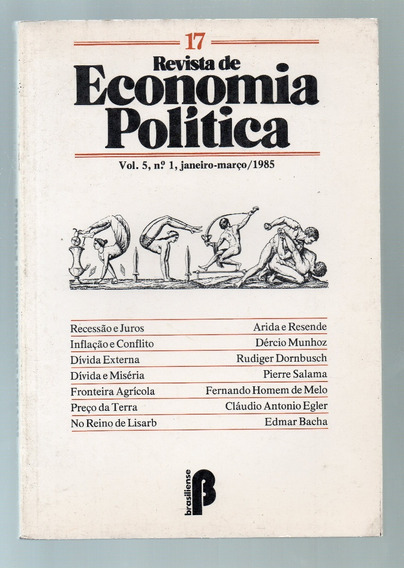 Revista De Economia Politica 17 Vol. 5 Nº 1 Jan Mar 1985