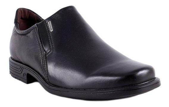 Sapato Pegada Masculino Preto Couro