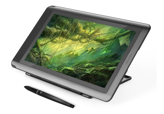 Pen Display Huion Gt-156hd V2 + 1 Guante + Base Metalica