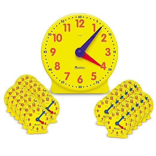 Aprender Kit De Recursos Aula Reloj
