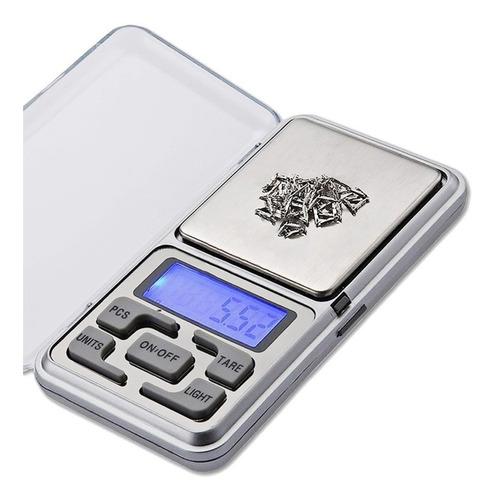 Balanza Digital De Precision 500g-0.1g Lcd Luz Portable