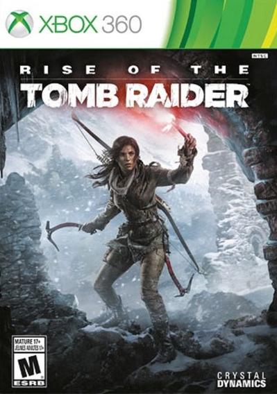 Rise Of The Tomb Raider Solo Xbox 360 Envio Gratis Instante